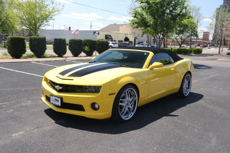Used 2011 Chevrolet Camaro 2SS CONVERTIBLE w/NAV for sale Sold at Auto Collection in Murfreesboro TN 37130 2