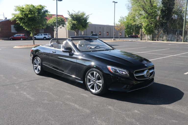 Used 2017 Mercedes-Benz S550 CABRIOLET PREMIUM W/NAV for sale $84,950 at Auto Collection in Murfreesboro TN 37130 2