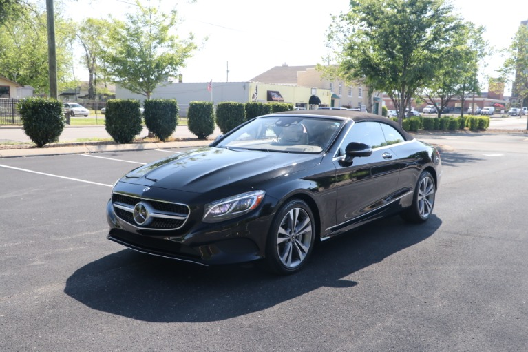 Used 2017 Mercedes-Benz S550 CABRIOLET PREMIUM W/NAV for sale $84,950 at Auto Collection in Murfreesboro TN 37130 3