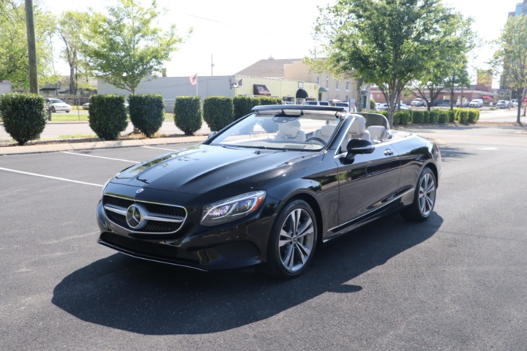 Used 2017 Mercedes-Benz S550 CABRIOLET PREMIUM W/NAV for sale $84,950 at Auto Collection in Murfreesboro TN 37130 4