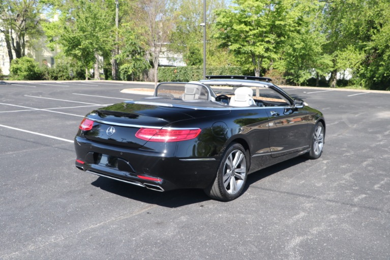 Used 2017 Mercedes-Benz S550 CABRIOLET PREMIUM W/NAV for sale $84,950 at Auto Collection in Murfreesboro TN 37130 6