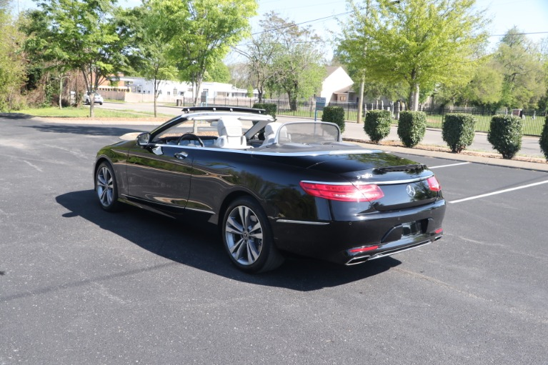Used 2017 Mercedes-Benz S550 CABRIOLET PREMIUM W/NAV for sale $84,950 at Auto Collection in Murfreesboro TN 37130 8