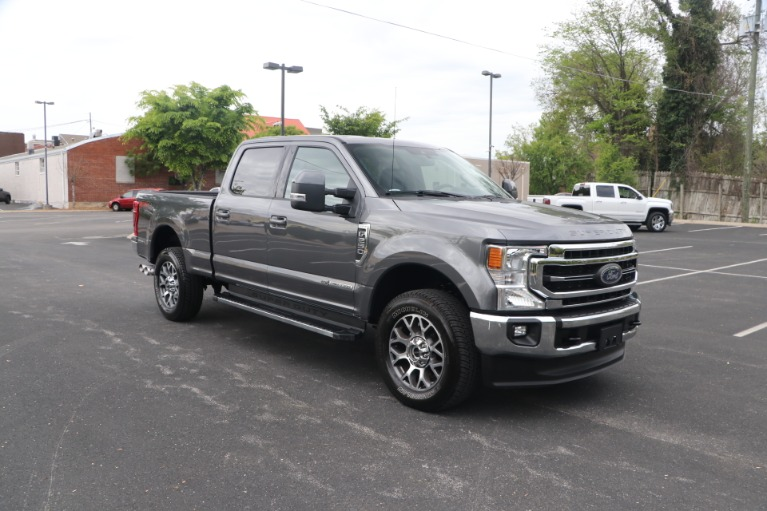 Used 2021 Ford F-250 SD LARIAT CREW CAB W/NAV for sale Sold at Auto Collection in Murfreesboro TN 37130 1
