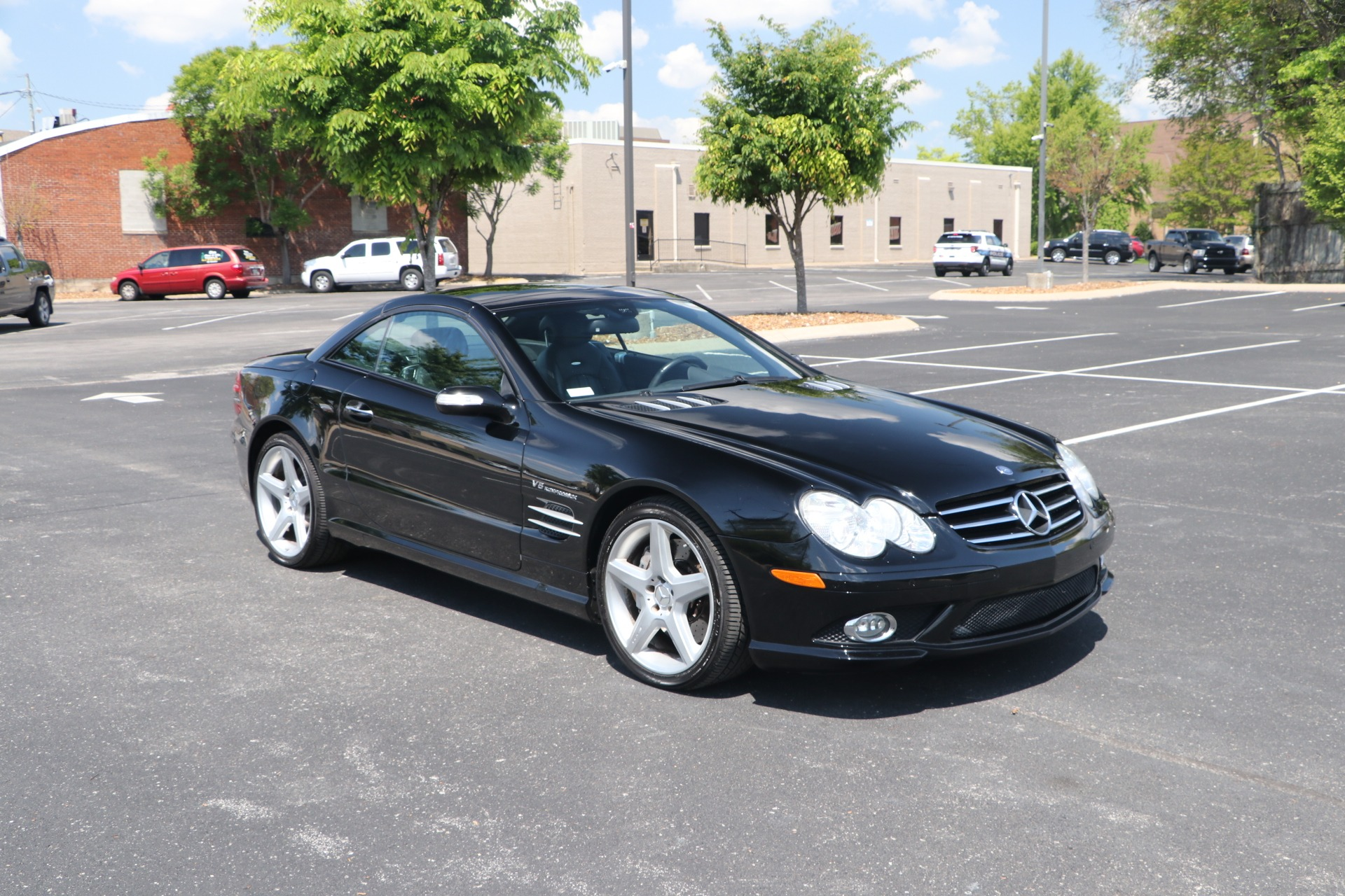 Used 2008 Mercedes-Benz SL55 SL55 AMG ROADSTER for sale $20,450 at Auto Collection in Murfreesboro TN 37130 1