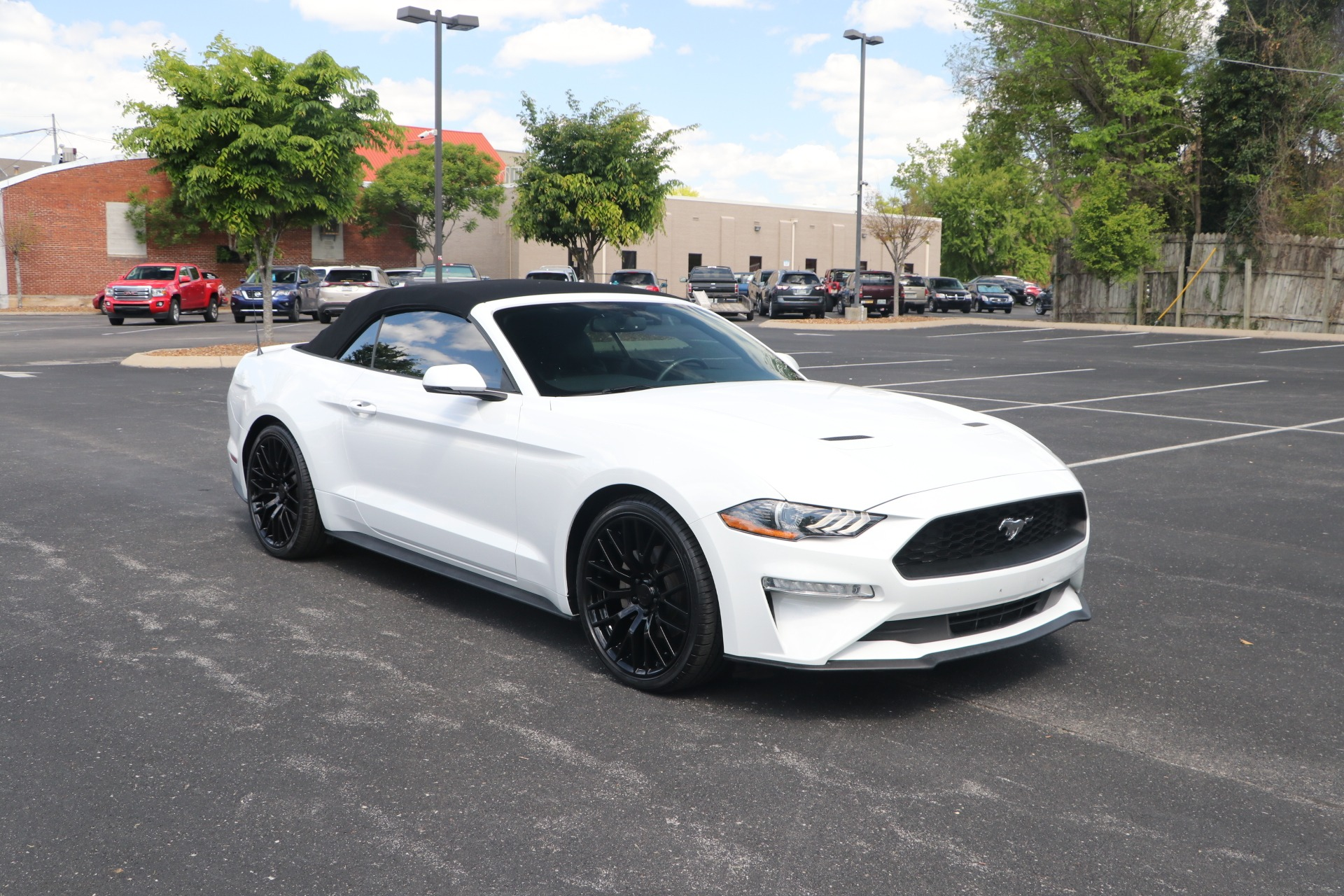 Used 2018 Ford Mustang CONVERTIBLE PREMIUM for sale Sold at Auto Collection in Murfreesboro TN 37130 1