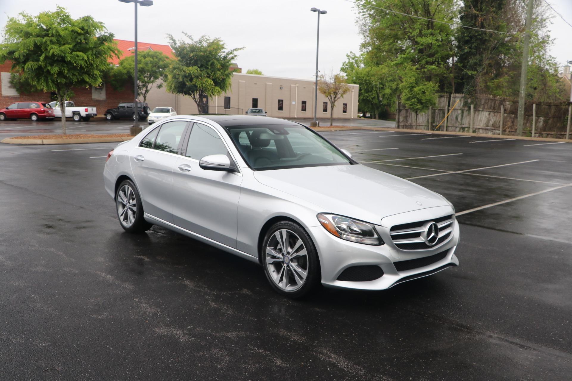 Used 2017 Mercedes-Benz C300 PREMIUM 1 W/NAV for sale $25,950 at Auto Collection in Murfreesboro TN 37130 1