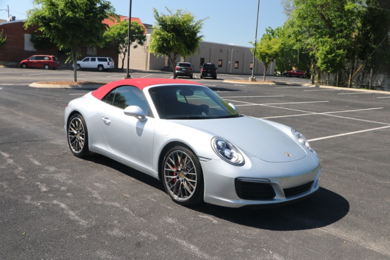 Used Used 2018 Porsche 911 CARRERA S CABRIOLET PREMIUM PLUS W/NAV for sale $119,950 at Auto Collection in Murfreesboro TN