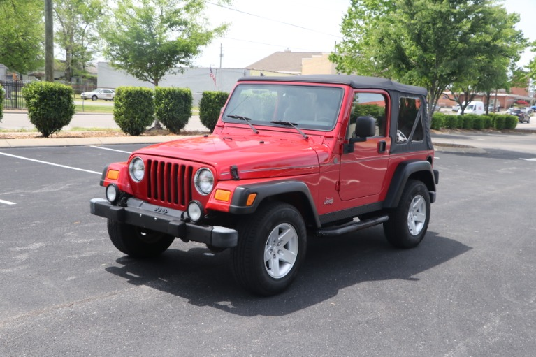 Used 2004 Jeep Wrangler RUBICON 2DR for sale Sold at Auto Collection in Murfreesboro TN 37130 2