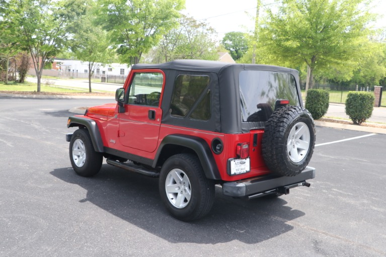Used 2004 Jeep Wrangler RUBICON 2DR for sale Sold at Auto Collection in Murfreesboro TN 37130 4