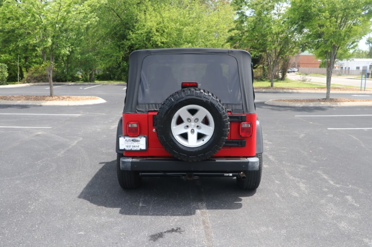 Used 2004 Jeep Wrangler RUBICON 2DR for sale Sold at Auto Collection in Murfreesboro TN 37130 6