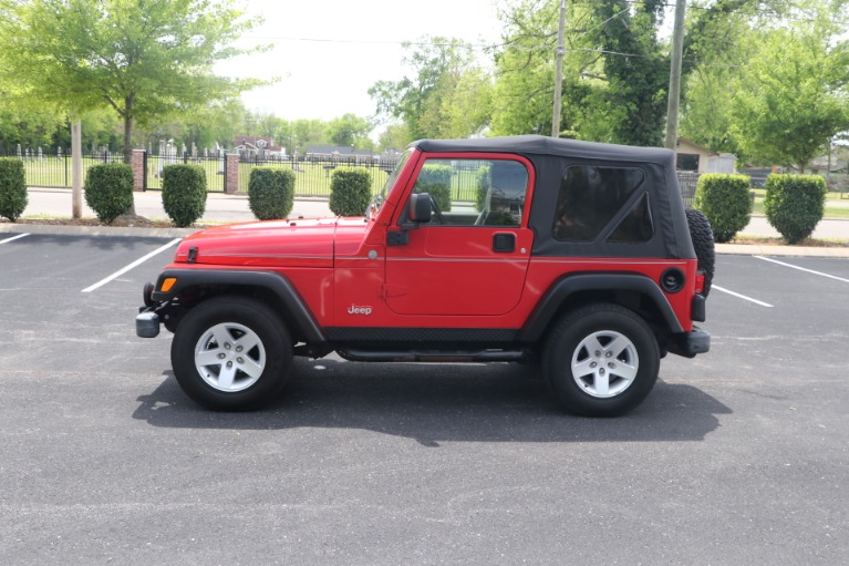 Used 2004 Jeep Wrangler RUBICON 2DR for sale Sold at Auto Collection in Murfreesboro TN 37130 7