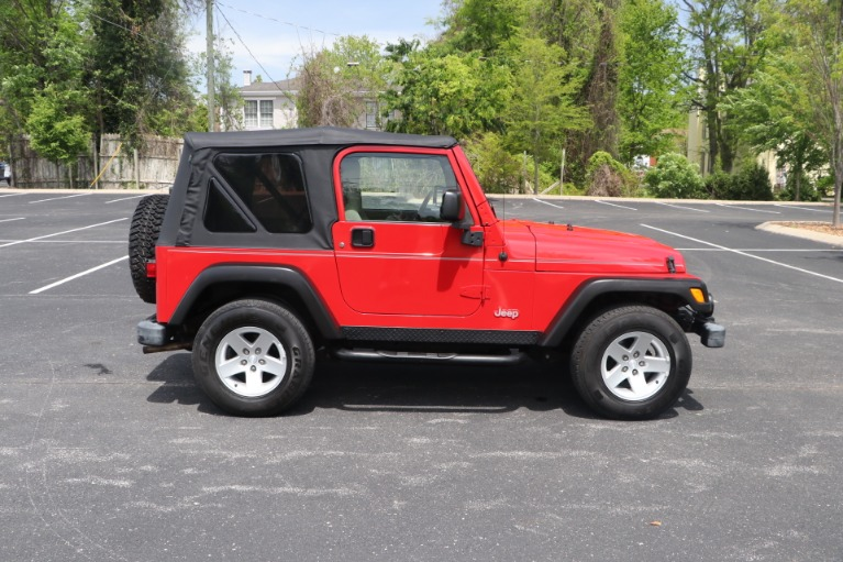 Used 2004 Jeep Wrangler RUBICON 2DR for sale Sold at Auto Collection in Murfreesboro TN 37130 8