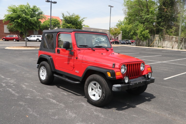 Used 2004 Jeep Wrangler RUBICON 2DR for sale Sold at Auto Collection in Murfreesboro TN 37130 1
