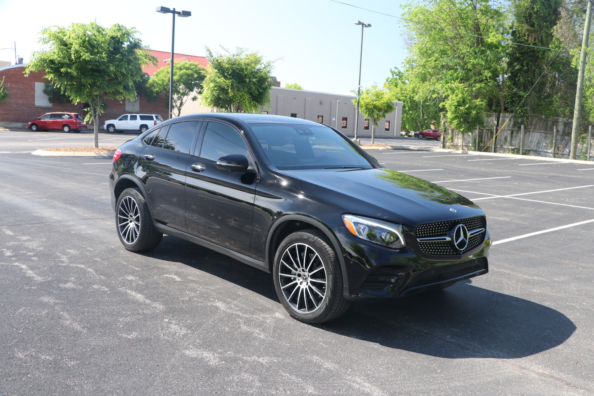 Used 2019 Mercedes-Benz GLC 300 COUPE 4MATIC AMG LINE W/NAV for sale $47,950 at Auto Collection in Murfreesboro TN 37130 1