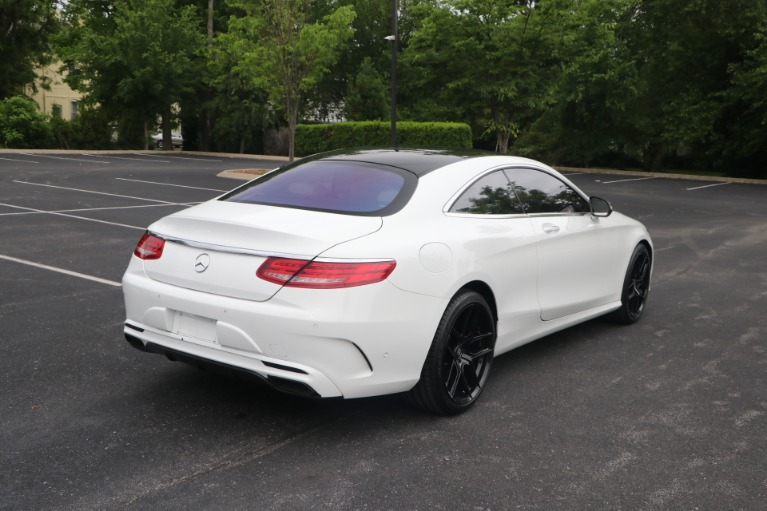 Used 2016 Mercedes-Benz S 550 COUPE 4MATIC W/NAV for sale Sold at Auto Collection in Murfreesboro TN 37130 3