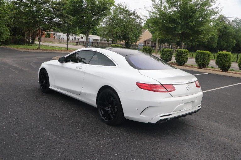 Used 2016 Mercedes-Benz S 550 COUPE 4MATIC W/NAV for sale Sold at Auto Collection in Murfreesboro TN 37130 4