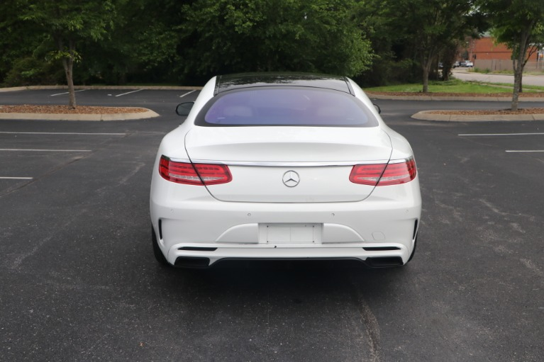 Used 2016 Mercedes-Benz S 550 COUPE 4MATIC W/NAV for sale $64,950 at Auto Collection in Murfreesboro TN 37130 6