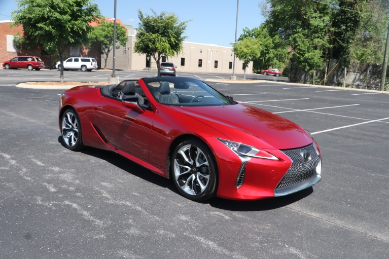 Used 2021 Lexus LC 500 CONVERTIBLE TOURING PKG W/NAV for sale $113,950 at Auto Collection in Murfreesboro TN 37130 2