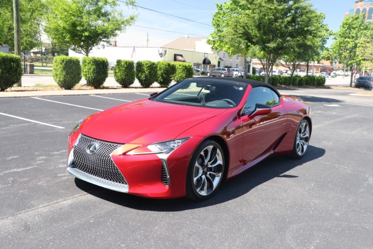 Used 2021 Lexus LC 500 CONVERTIBLE TOURING PKG W/NAV for sale $113,950 at Auto Collection in Murfreesboro TN 37130 3