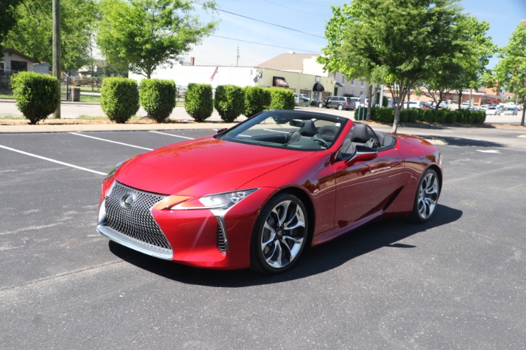 Used 2021 Lexus LC 500 CONVERTIBLE TOURING PKG W/NAV for sale $113,950 at Auto Collection in Murfreesboro TN 37130 4