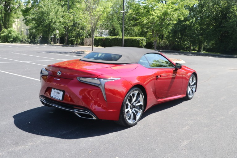 Used 2021 Lexus LC 500 CONVERTIBLE TOURING PKG W/NAV for sale $113,950 at Auto Collection in Murfreesboro TN 37130 5