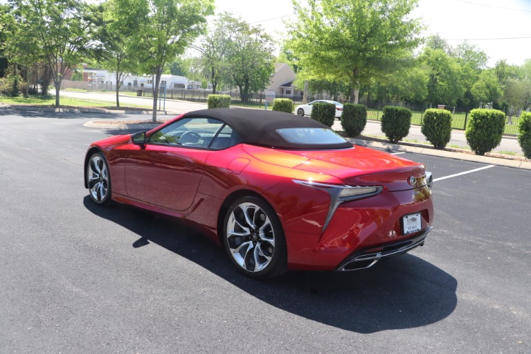 Used 2021 Lexus LC 500 CONVERTIBLE TOURING PKG W/NAV for sale $113,950 at Auto Collection in Murfreesboro TN 37130 7