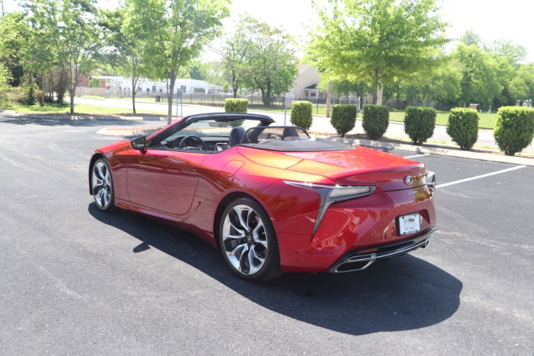 Used 2021 Lexus LC 500 CONVERTIBLE TOURING PKG W/NAV for sale $113,950 at Auto Collection in Murfreesboro TN 37130 8