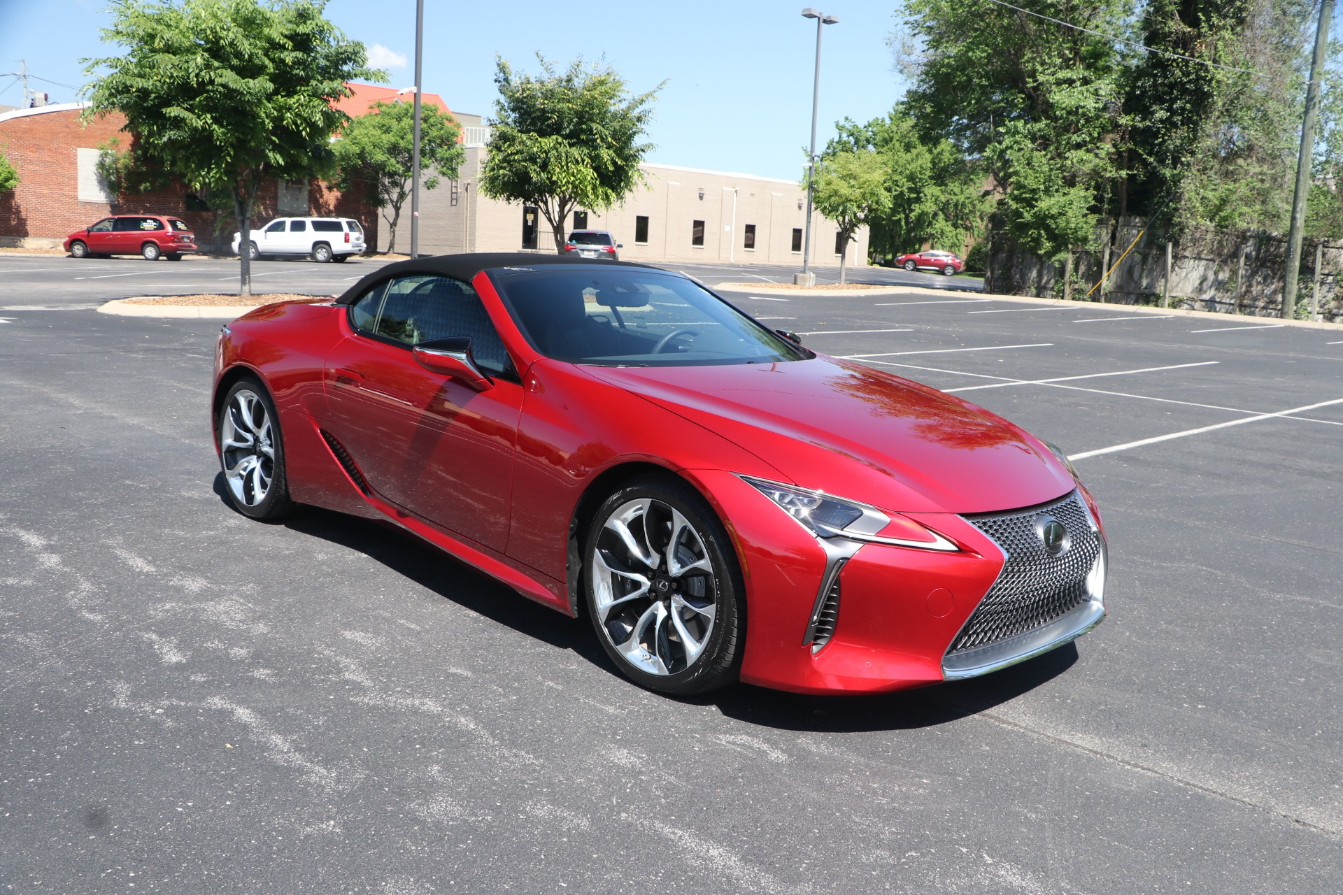 Used 2021 Lexus LC 500 CONVERTIBLE TOURING PKG W/NAV for sale $113,950 at Auto Collection in Murfreesboro TN 37130 1