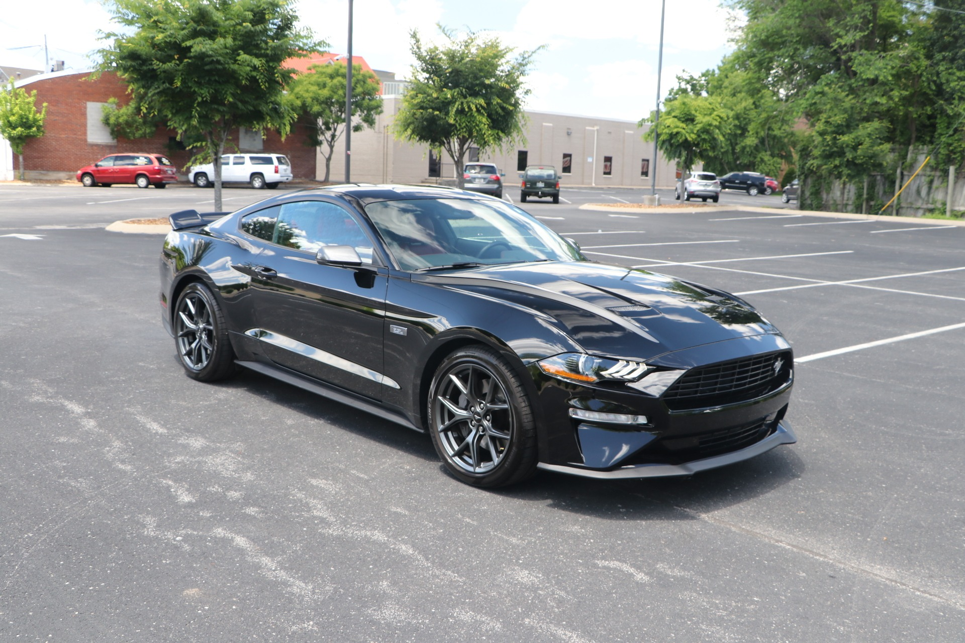 Used 2020 Ford Mustang Premium Ecoboost W/NAV for sale $41,950 at Auto Collection in Murfreesboro TN 37130 1