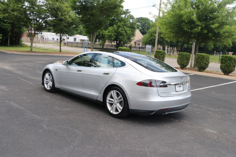Used 2015 Tesla Model S 90D AWD W/NAV for sale Sold at Auto Collection in Murfreesboro TN 37130 4