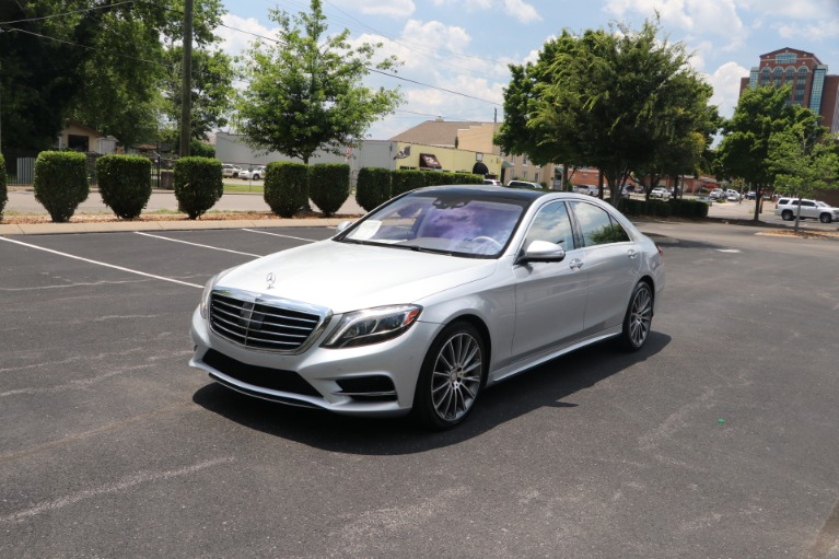Used 2017 Mercedes-Benz S550 SPORT RWD W/PREMIUM PKG for sale $58,950 at Auto Collection in Murfreesboro TN 37130 2