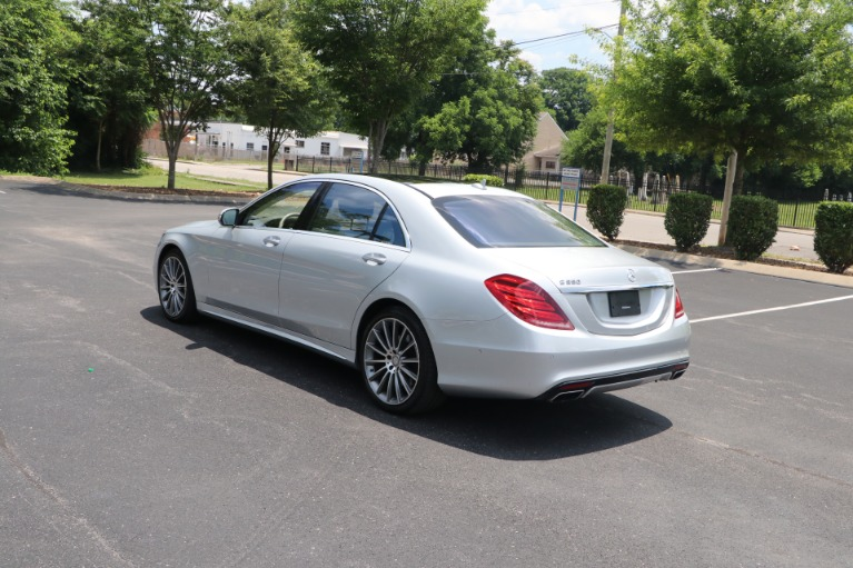 Used 2017 Mercedes-Benz S550 SPORT RWD W/PREMIUM PKG for sale $58,950 at Auto Collection in Murfreesboro TN 37130 4