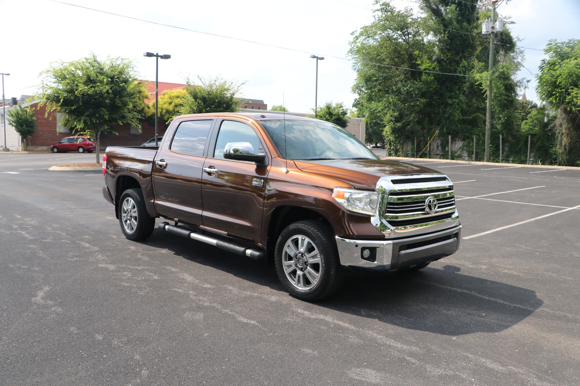 Used 2017 Toyota Tundra 1794 Edition 4WD W/NAV for sale $49,950 at Auto Collection in Murfreesboro TN 37130 1