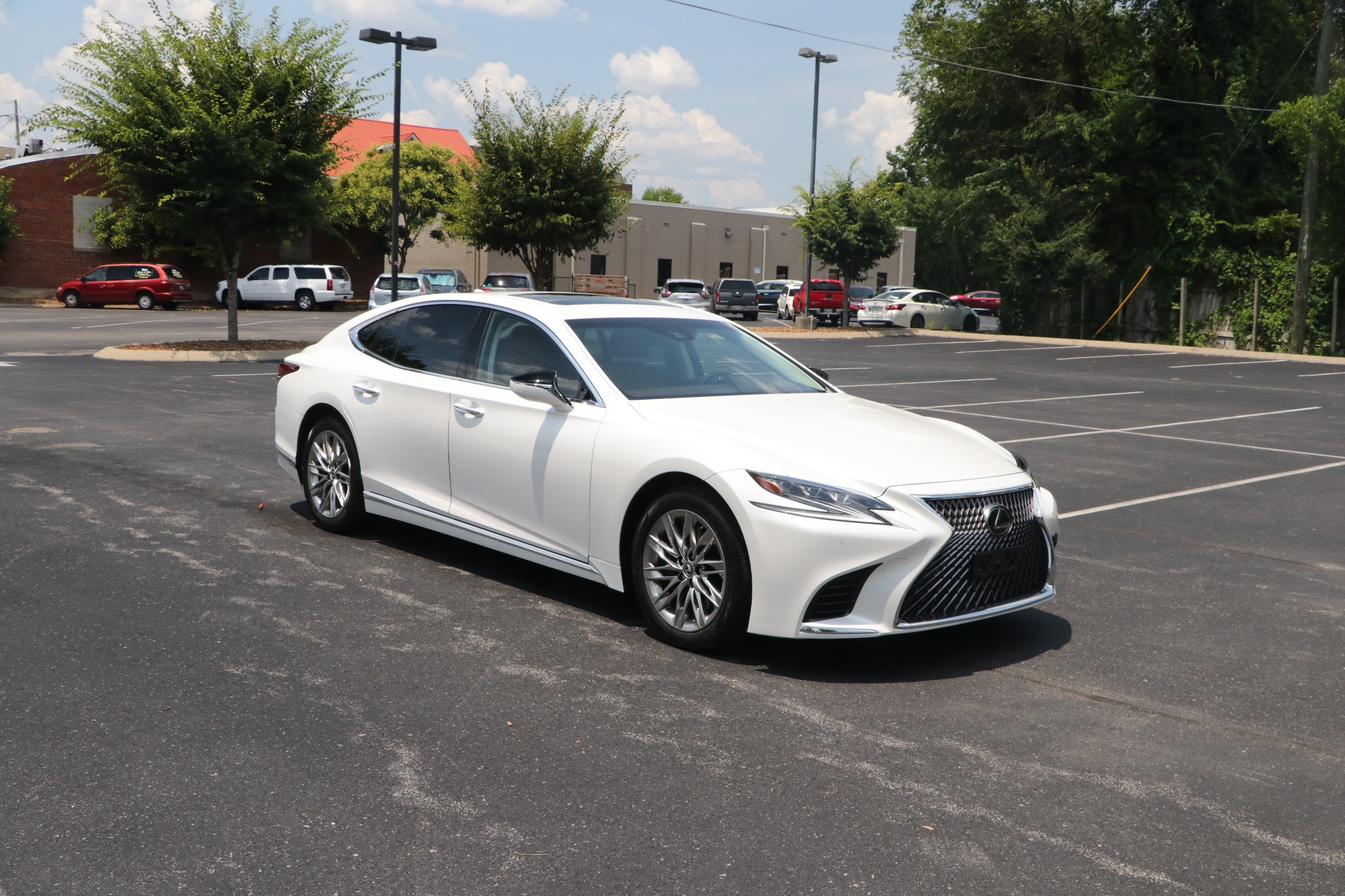 Used 2018 Lexus LS 500 RWD W/NAV for sale $62,500 at Auto Collection in Murfreesboro TN 37130 1