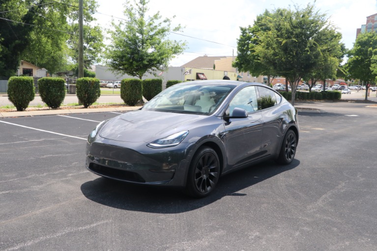 Used 2021 Tesla Model Y STANDARD RANGE W/AUTOPILOT for sale Sold at Auto Collection in Murfreesboro TN 37130 2