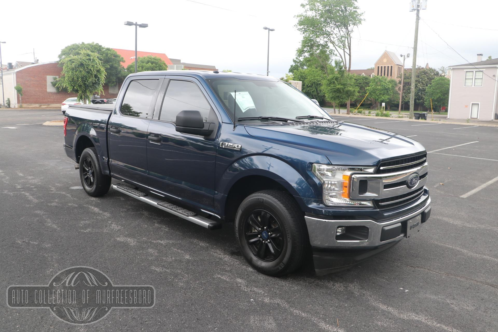 Used 2018 Ford F-150 XLT SUPERCREW 4X2 ECOBOOST for sale $40,950 at Auto Collection in Murfreesboro TN 37130 1