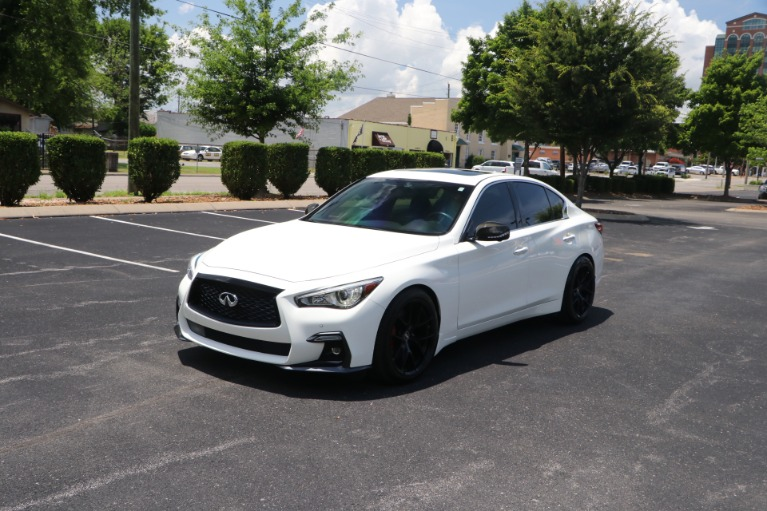 Used 2018 infiniti Q50 RED SPORT 400 AWD W/NAV for sale $39,950 at Auto Collection in Murfreesboro TN 37130 2