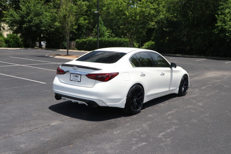 Used 2018 infiniti Q50 RED SPORT 400 AWD W/NAV for sale $39,950 at Auto Collection in Murfreesboro TN 37130 3