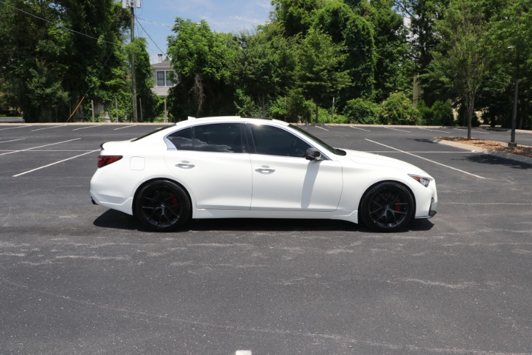 Used 2018 infiniti Q50 RED SPORT 400 AWD W/NAV for sale $39,950 at Auto Collection in Murfreesboro TN 37130 8