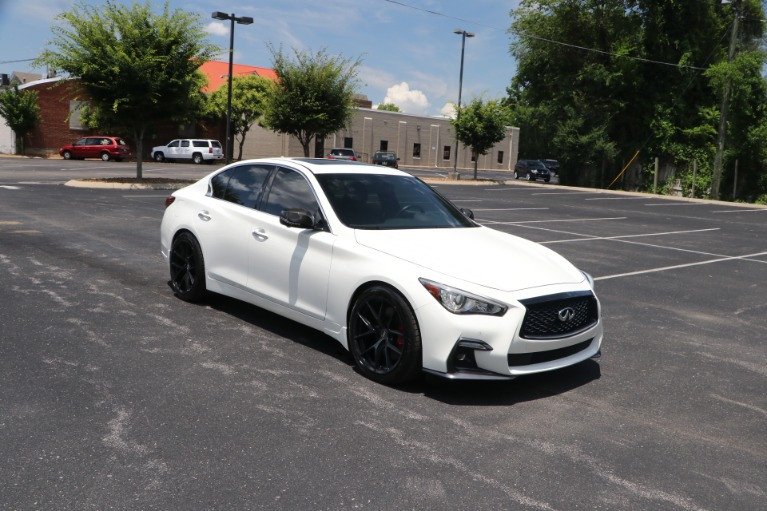 Used 2018 infiniti Q50 RED SPORT 400 AWD W/NAV for sale $39,950 at Auto Collection in Murfreesboro TN 37130 1