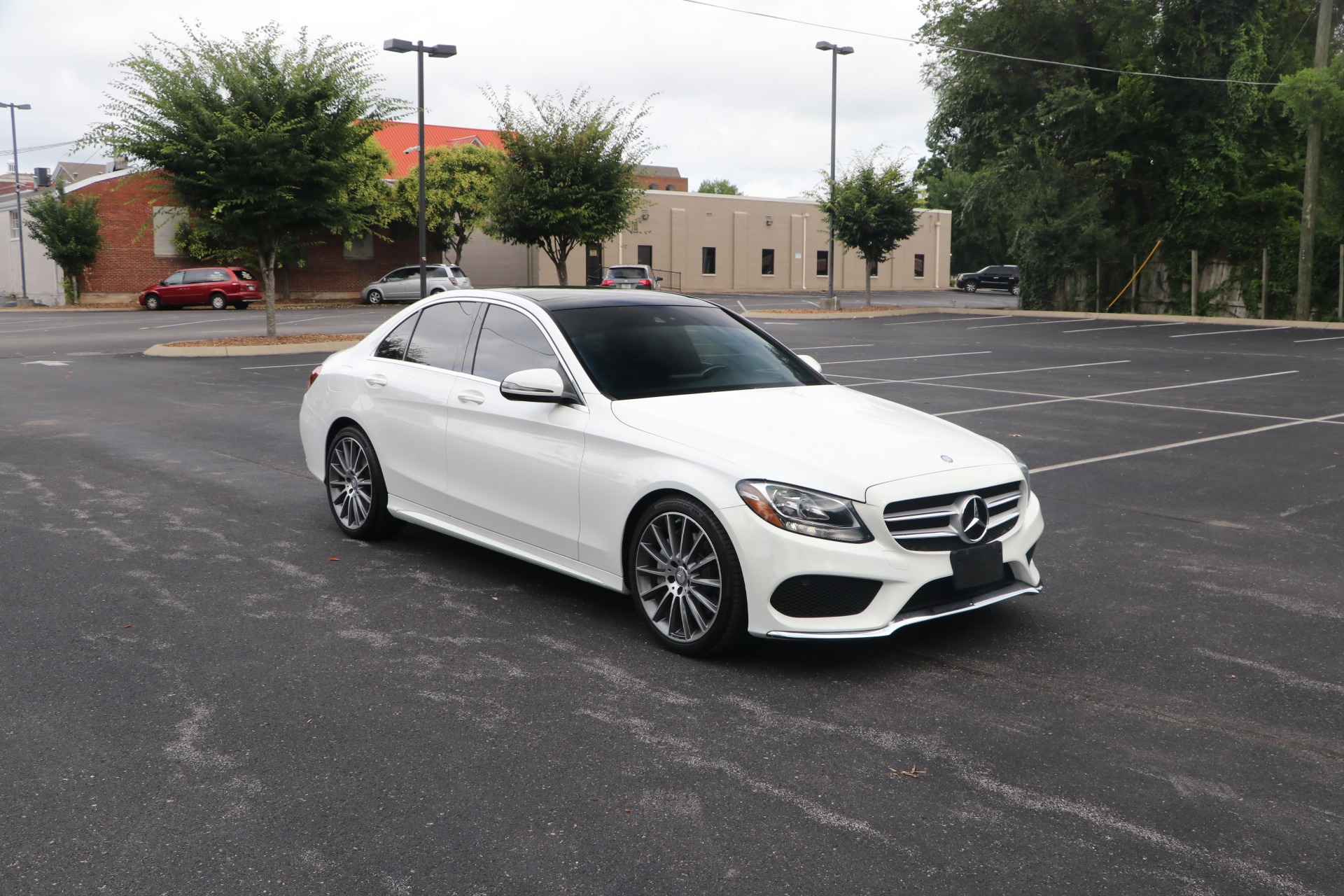 Used 2017 Mercedes-Benz C300 Sport for sale $26,950 at Auto Collection in Murfreesboro TN 37130 1