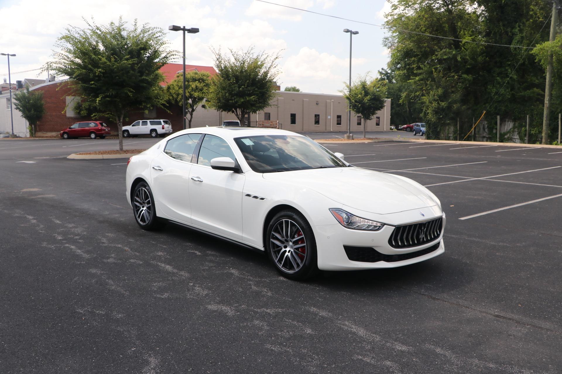 Used 2020 Maserati Ghibli SQ4 AWD for sale $65,950 at Auto Collection in Murfreesboro TN 37130 1