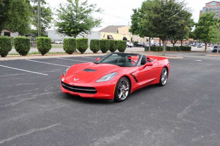 Used 2014 Chevrolet Corvette Stingray Z51 3LT CONVERTIBLE W/NAV for sale Sold at Auto Collection in Murfreesboro TN 37130 2
