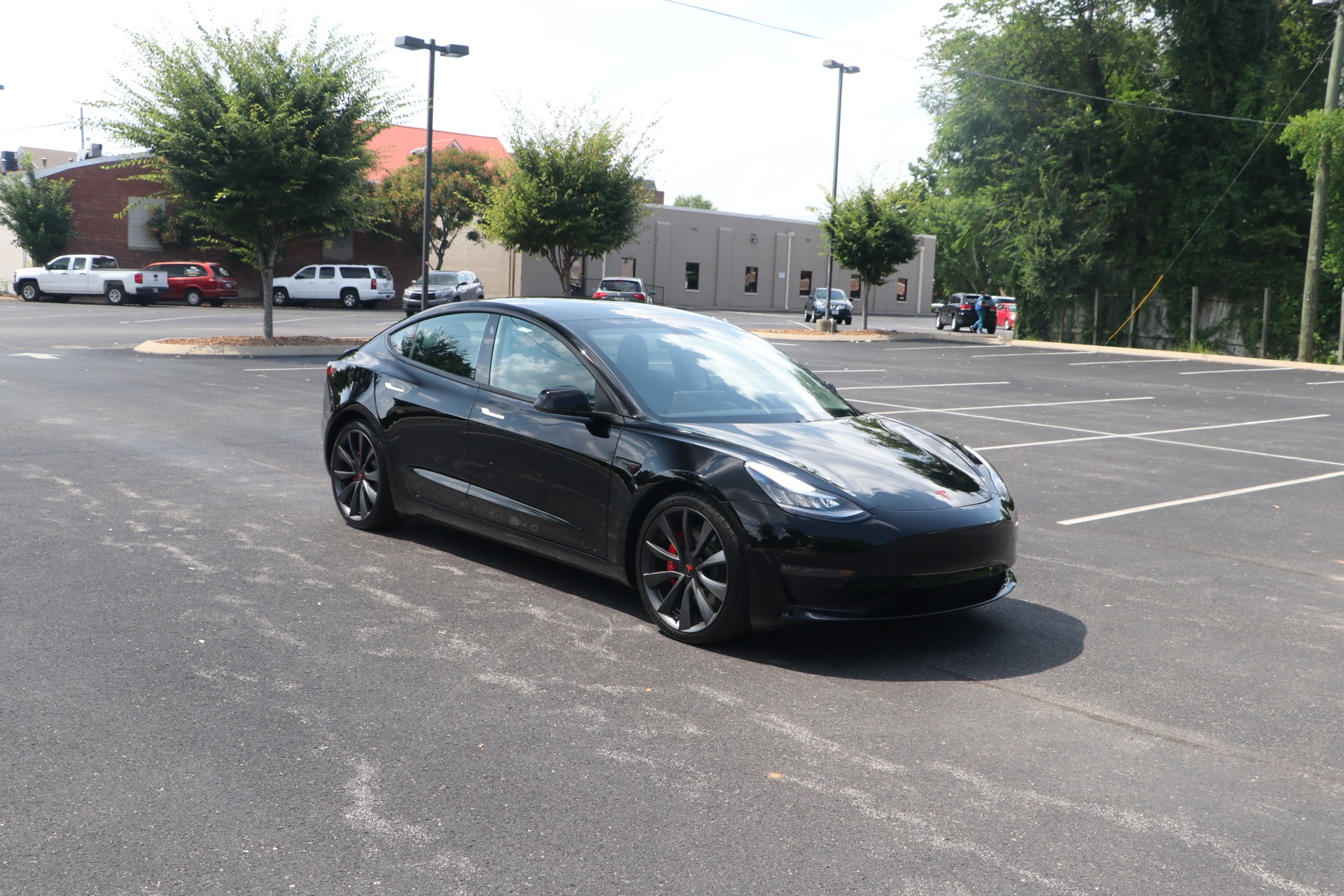 Used 2020 Tesla Model 3 Performance AWD W/FULL SELF DRIVING for sale Sold at Auto Collection in Murfreesboro TN 37130 1