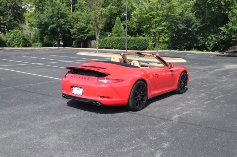 Used 2013 Porsche 911 CARRERA CABRIOLET PREMIUM PLUS SPORT CHRONO for sale Sold at Auto Collection in Murfreesboro TN 37130 3