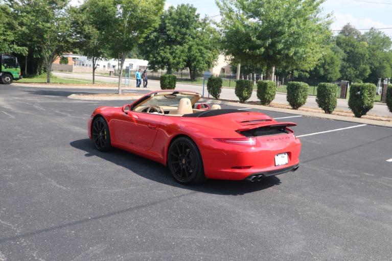 Used 2013 Porsche 911 CARRERA CABRIOLET PREMIUM PLUS SPORT CHRONO for sale Sold at Auto Collection in Murfreesboro TN 37130 4