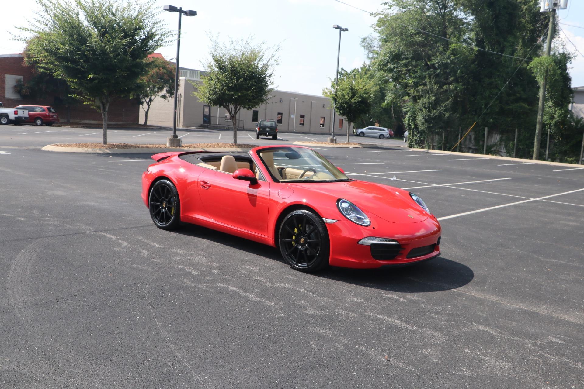 Used 2013 Porsche 911 CARRERA CABRIOLET PREMIUM PLUS SPORT CHRONO for sale Sold at Auto Collection in Murfreesboro TN 37130 1