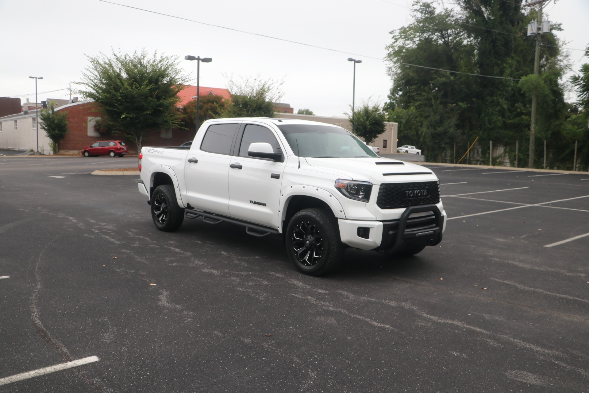 Used 2019 Toyota Tundra TRD PRO CREWMAX CAB 4WD W/NAV for sale $58,950 at Auto Collection in Murfreesboro TN 37130 1
