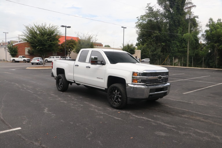 Used Used 2016 Chevrolet Silverado 2500HD 4WD Double Cab 144.2 Work Truck for sale $29,950 at Auto Collection in Murfreesboro TN