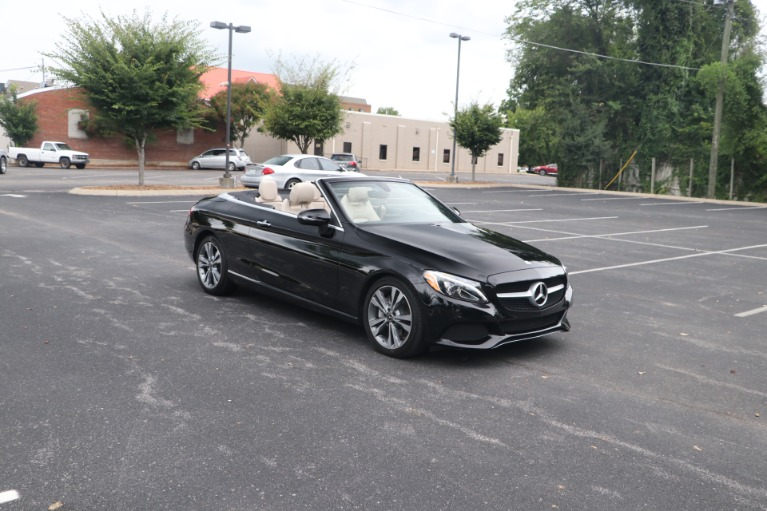 Used Used 2018 Mercedes-Benz C 300 CABRIOLET 4MATIC W/PREMIUM PKG for sale $46,500 at Auto Collection in Murfreesboro TN